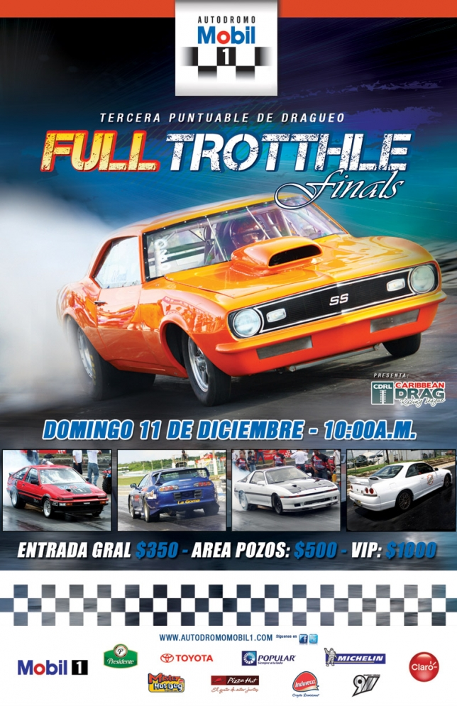 3ra y ultima fecha del campeonato de dragueo 2011 'Full Throttel Finals'