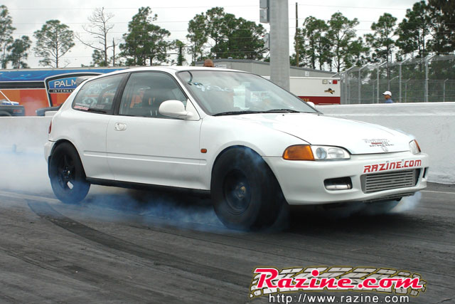 'Yoemi Luna' (Honda Civic Turbo 10.37 @ 144 mph )