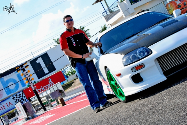 Toyota Supra MKIV J-Spec 2JZ-GTE 2002 de Carlos Caputo, Photo Shoot by EdiR
