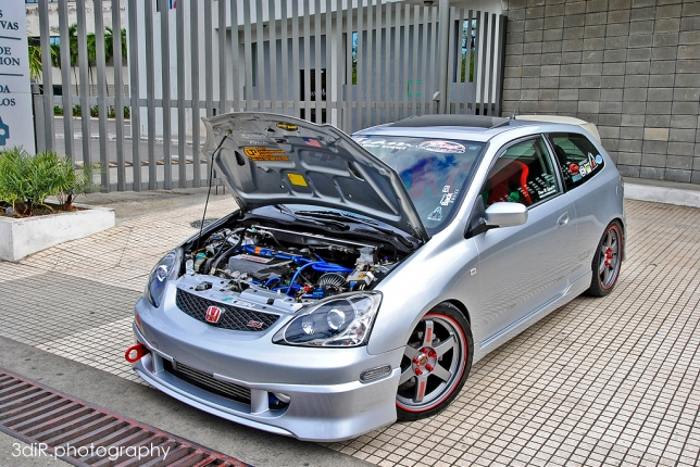 Honda Civic EP3 Si 2004 SK Performance Photo Shoot