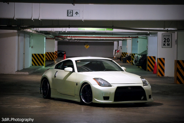 Nissan 350Z 2004 Hella Style 'Montana', photo shoot by Edi_R