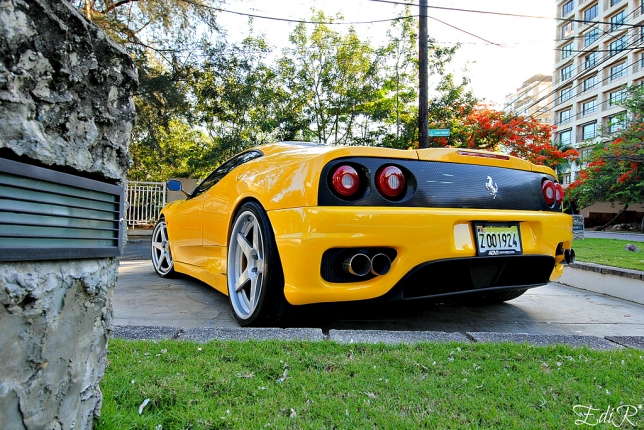 Ferrari 360 Modena F1 2000, photo shoot by Edi_R.8