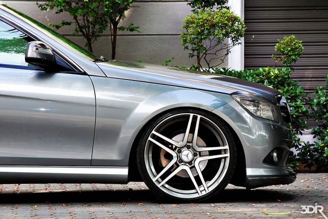 Mercedes Benz C200 Kompressor de Victor Nin, photo shoot by Edi_R