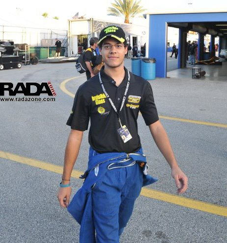Alfonso Alvarez en Daytona (Fotos By Radazone.com)