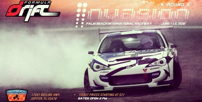 Formula Drift 1 y 2 Junio 2012 en Palm Beach International Raceway