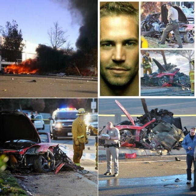 Paul Walker muere en tragico accidente.