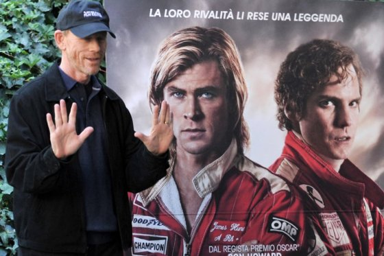Ron Howard directo de la Pelicula RUSH.