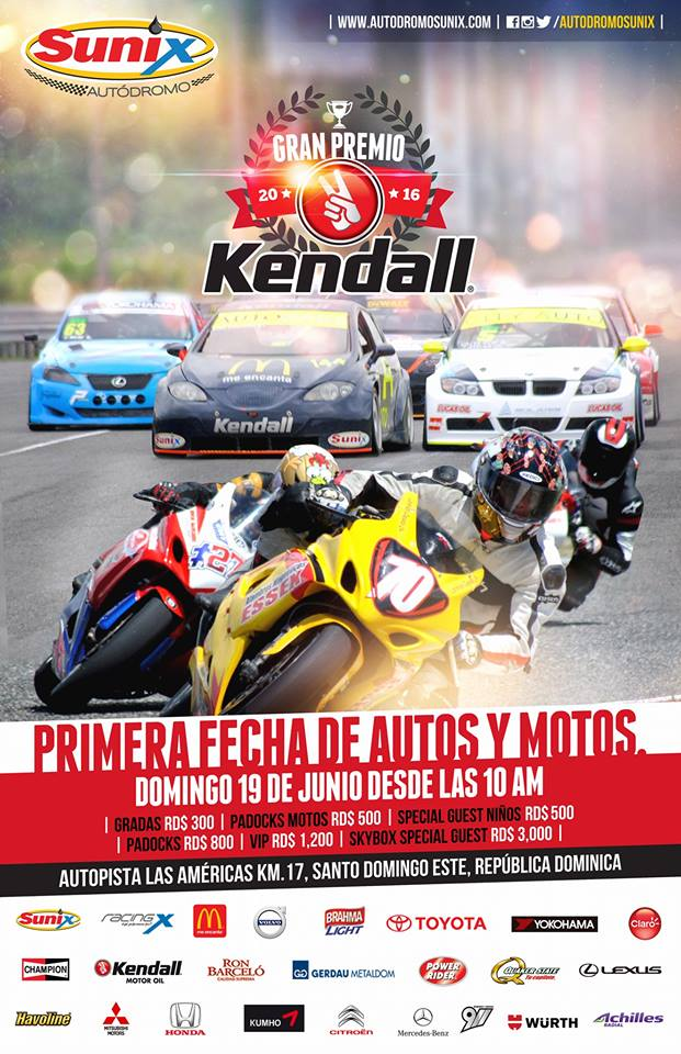 GP Kendall 2016