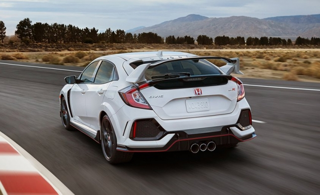 Honda Civic Type R 2017.1
