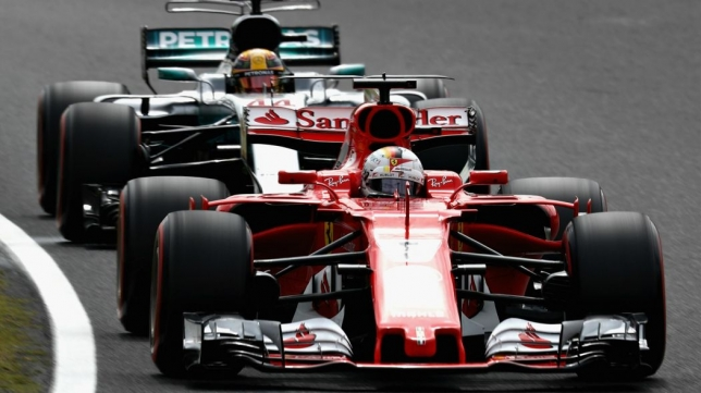 Ferrari Vs Mercedes United States F1 2017